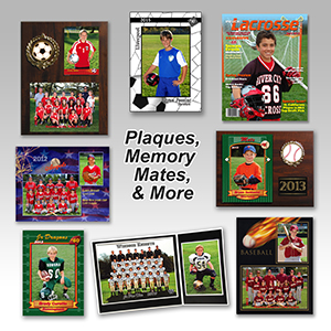 Plaques, Memory Mates & More