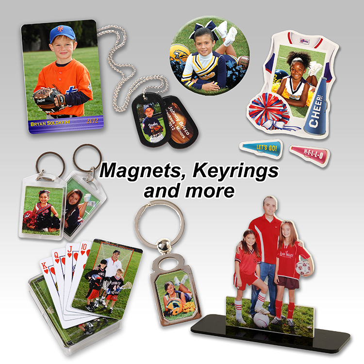 Magnet, Keyrings & More
